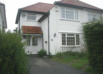 Thumbnail 3 bed semi-detached house to rent in Vine Road, Orpington