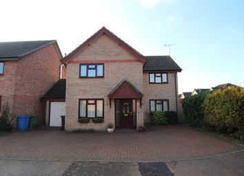 Thumbnail 4 bed detached house for sale in Hardy Close, Brantham, Manningtree