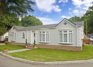 Thumbnail 3 bedroom mobile/park home for sale in London Road, West Kingsdown, Sevenoaks, Kent