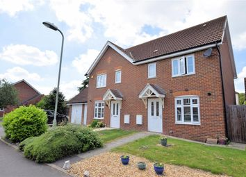 Thumbnail 3 bedroom semi-detached house for sale in Oatlands Chase, Shinfield, Reading
