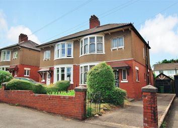 Thumbnail 3 bedroom semi-detached house for sale in Llandennis Avenue, Cyncoed, Cardiff