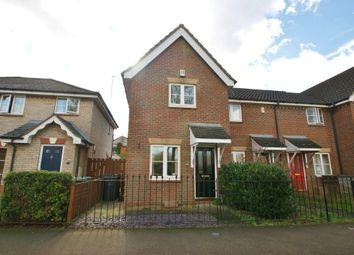 Thumbnail 2 bedroom end terrace house for sale in West End, Costessey, Norwich