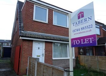 Thumbnail 3 bed semi-detached house to rent in Hornby Crescent, Clock Face, St. Helens