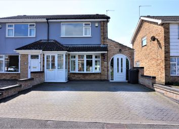 Thumbnail 3 bed semi-detached house for sale in Stonehaven Close, Coalville
