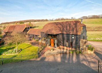 Thumbnail 5 bed barn conversion for sale in Pett Road, Stockbury, Sittingbourne