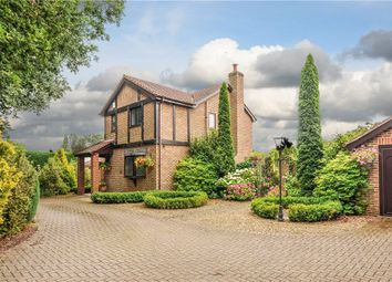 Thumbnail 4 bed detached house for sale in Church Road, Three Legged Cross, Wimborne, Dorset