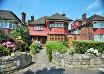 Thumbnail 5 bed detached house for sale in Manor Hall Avenue, Hendon