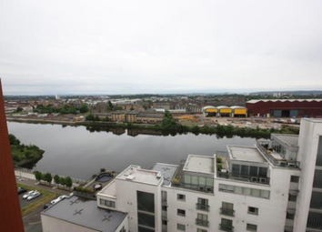 Thumbnail 2 bed flat to rent in 301 Glasgow Harbour Terrace, Glasgow