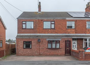 Thumbnail 4 bedroom semi-detached house for sale in Victoria Road, Barnetby