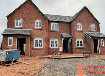 Thumbnail 3 bed end terrace house for sale in Plot 4, Old Hall Fields, Wellington, Telford