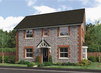"Thumbnail 3 bed detached house for sale in ""Downshire"" at Clappers Lane, Bracklesham Bay, Chichester"