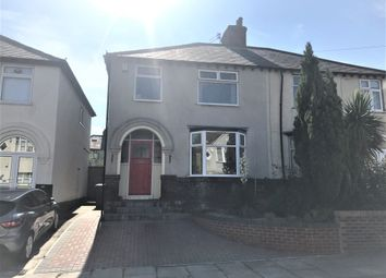 Thumbnail 3 bed semi-detached house to rent in Hattons Lane, Childwall, Liverpool