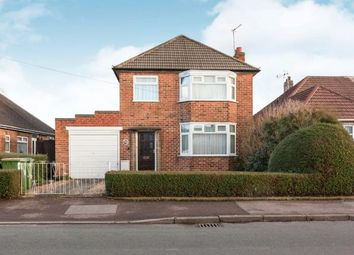 Thumbnail 3 bed detached house for sale in Holmfield Avenue East, Leicester Forest East, Leicester