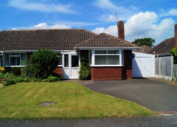 Thumbnail 2 bed semi-detached bungalow for sale in Churchill Avenue, Droitwich