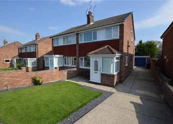Thumbnail 3 bed semi-detached house for sale in Hathaway Drive, Leeds, West Yorkshire