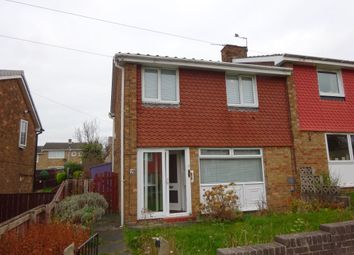 Thumbnail 3 bed semi-detached house for sale in Appleby Gardens, Gateshead