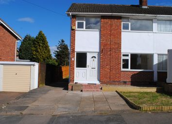 Thumbnail 3 bed semi-detached house to rent in Winslow Drive, Wigston