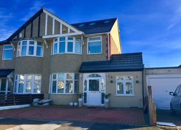 Thumbnail 5 bedroom semi-detached house for sale in Clayhall, Ilford, Essex