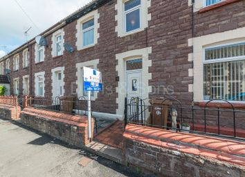 Thumbnail 3 bed terraced house for sale in Sansom Street, Risca, Newport.