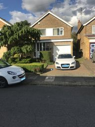 Thumbnail 3 bed detached house to rent in Broughton Avenue, Luton