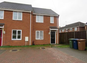 Thumbnail 2 bed end terrace house to rent in Coblands, Storbeck Road, Wisbech