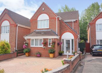 Thumbnail 3 bed detached house for sale in Offwell Close, Redditch
