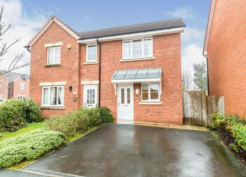 Thumbnail 3 bed semi-detached house for sale in Old Thorns Crescent, Buckshaw Village, Chorley, Lancashire