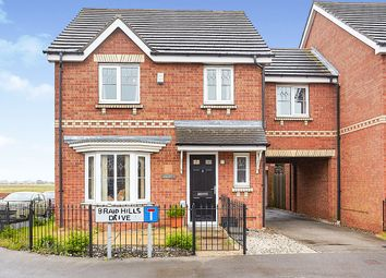 Thumbnail 4 bed link-detached house for sale in Braid Hills Drive, Bransholme, Hull, East Yorkshire