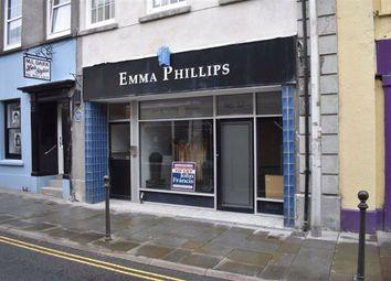 Thumbnail Retail premises to let in King Street, Carmarthen