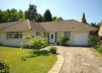 Thumbnail 2 bed detached bungalow for sale in Vale Close, Lower Bourne, Farnham