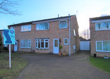 Thumbnail 3 bed semi-detached house for sale in Deincourt Close, Spondon, Derby