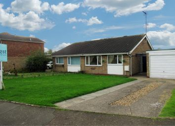Thumbnail 2 bed semi-detached bungalow for sale in Rosamund Avenue, Braunstone, Leicester