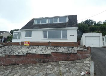 Thumbnail 4 bed detached bungalow for sale in Lewis Terrace, New Quay