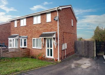 Thumbnail 2 bed semi-detached house for sale in Torside, Tamworth