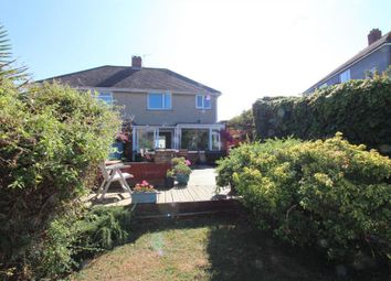 Thumbnail 3 bedroom semi-detached house for sale in Dennis Road, Weymouth, Dorset