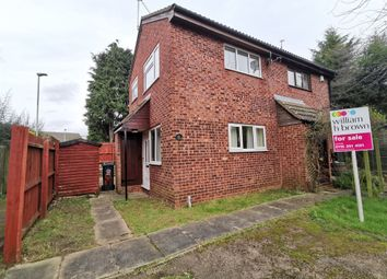 Thumbnail 1 bed semi-detached house for sale in Warren View, Leicester