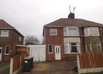 Thumbnail 3 bed semi-detached house for sale in Shortwood Avenue, Hucknall, Nottingham, Nottinghamshire
