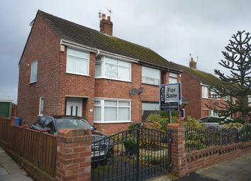 Thumbnail 3 bed semi-detached house for sale in Beverley Avenue, Poulton-Le-Fylde