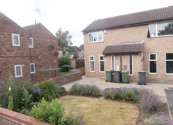 Thumbnail 1 bed semi-detached house to rent in Hinton Avenue, York