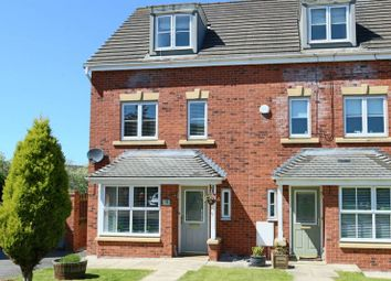 Thumbnail 4 bed town house for sale in Sherratt Close, Stapeley, Nantwich