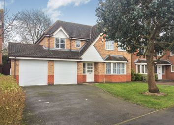 Thumbnail 5 bed detached house for sale in Mount Pleasant, Oadby, Leicester