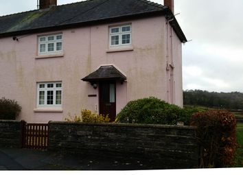 Thumbnail 3 bed semi-detached house to rent in Heol Y Dderwen, Pontwelly, Llandysul, Ceredigion, West Wales