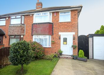 Thumbnail 3 bed semi-detached house for sale in Holtlands Drive, Alvaston, Derby