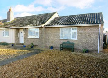 Thumbnail 2 bed semi-detached bungalow to rent in Wingfield Avenue, Lakenheath, Brandon