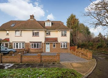 Thumbnail 4 bedroom semi-detached house for sale in Upland Way, Epsom