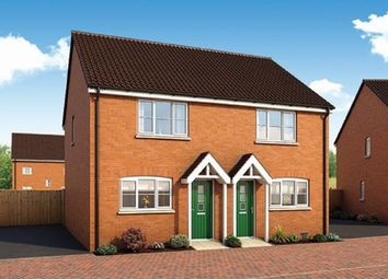 Thumbnail 2 bedroom semi-detached house for sale in Popular Avenue, Peterborough