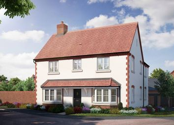 """Thumbnail 4 bed detached house for sale in """"The Halford - Showhome Sale & Leaseback"""" at Kiln Lane, Leigh Sinton, Malvern"""