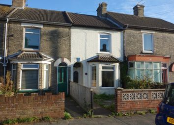 Thumbnail 3 bed terraced house for sale in London Road, Kessingland, Lowestoft, Suffolk