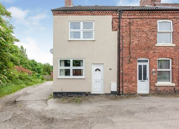 Thumbnail 2 bed end terrace house for sale in Crescent Road, Selston, Nottingham