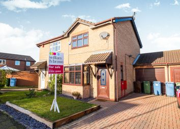 Thumbnail 2 bedroom semi-detached house for sale in Briar Lea, Worksop